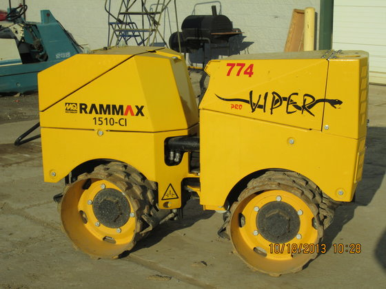 2011 RAMMAX RX1510-CL Compactor/Roller in