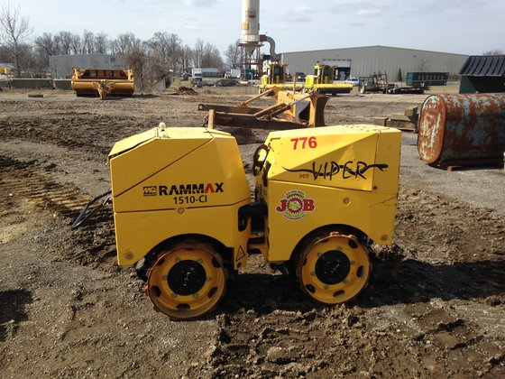 2013 RAMMAX RX1510-CL Compactor/Roller in