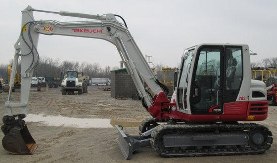2014 TAKEUCHI TB290 Excavator -
