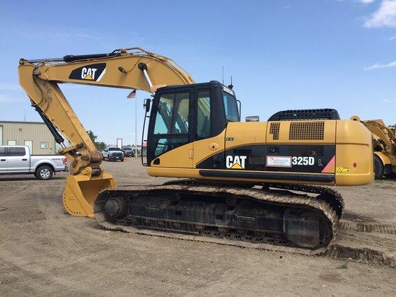2008 CATERPILLAR 325DL Excavator -