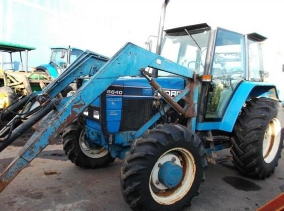 1994 FORD 6640 in New