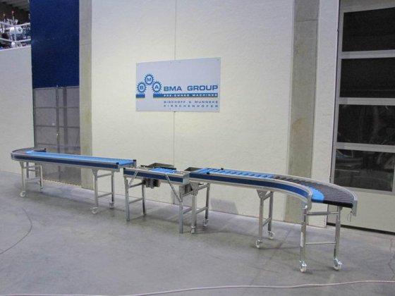 Gebraucht 2010 Kunststoff Rollenbahn Mit Packtisch 99 0621 In