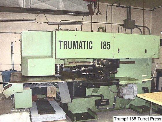 1985 20 ton Trumpf Trumatic
