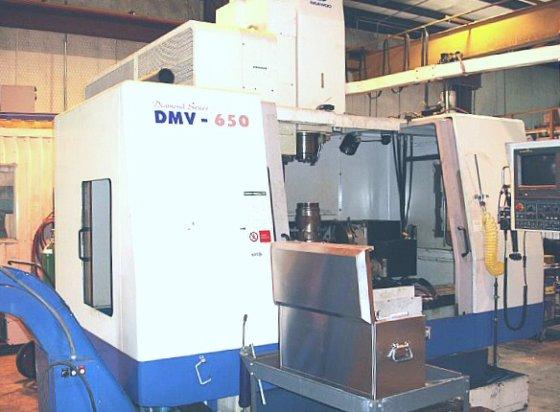 Daewoo DMV-650 5 Axis Vertical