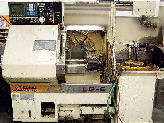 1994 Wasino LG-6 CNC Chucking