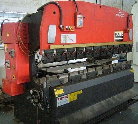 2002 Amada RG-80 Hydraulic CNC