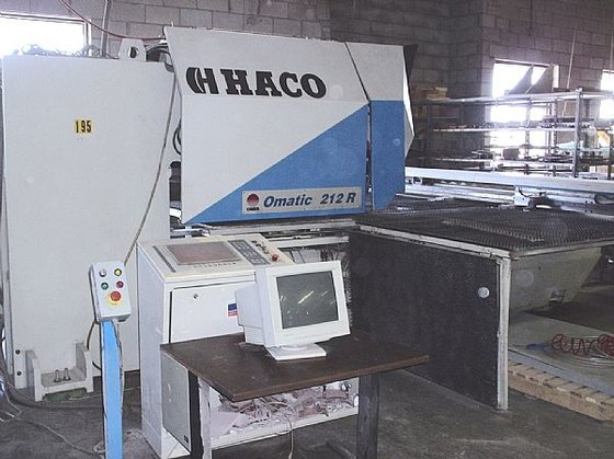Haco Omatic 212R Turret Press