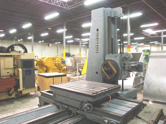 "Scharmann 6"" Table Type Horizontal"