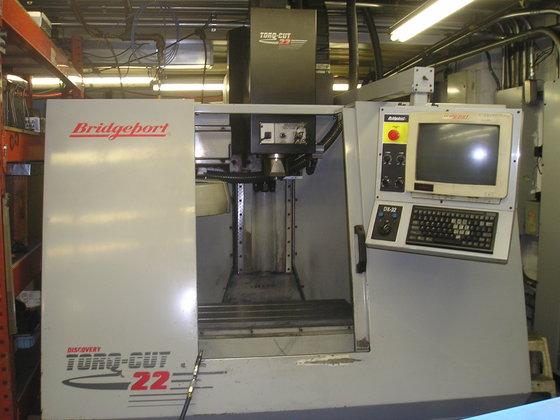 Bridgeport Discovery Torq-Cut Vertical Machining