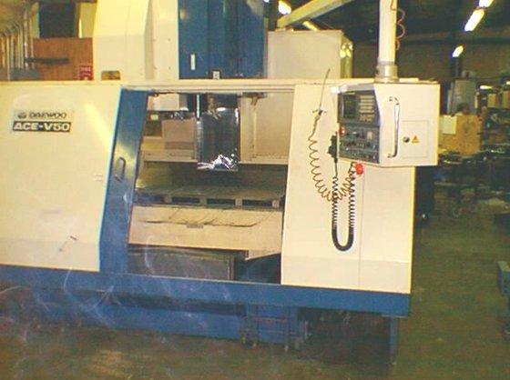1992 Daewoo Ace-V50 CNC Vertical