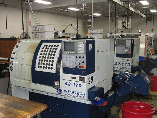 2001 Intertech 42-170 3-Axis CNC
