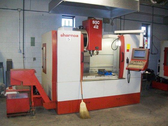 2005 Sharnoa SGC-42 CNC Vertical