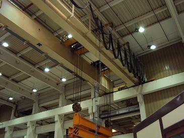40 ton Kone Overhead Top