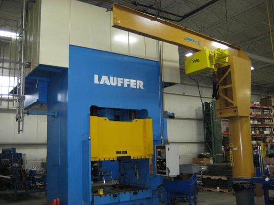 2002 1200 ton Lauffer Model