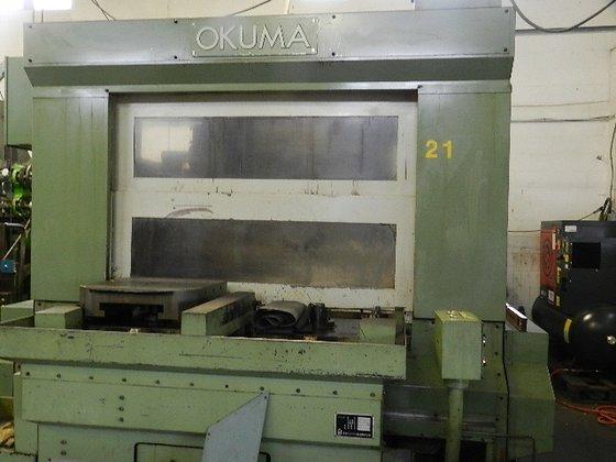 1998 Okuma MC50H 4-Axis Horizontal