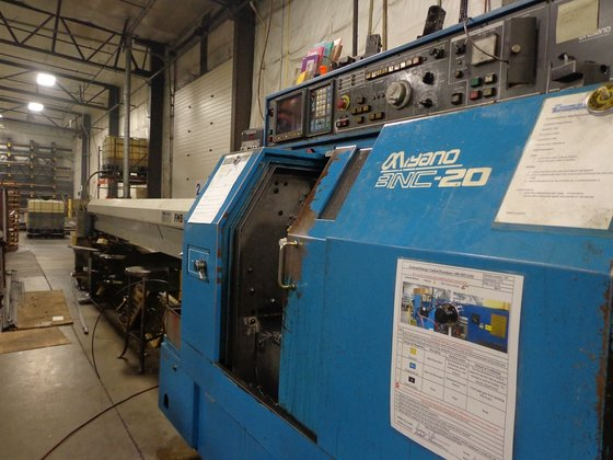 Miyano BNC-20S CNC Lathe with