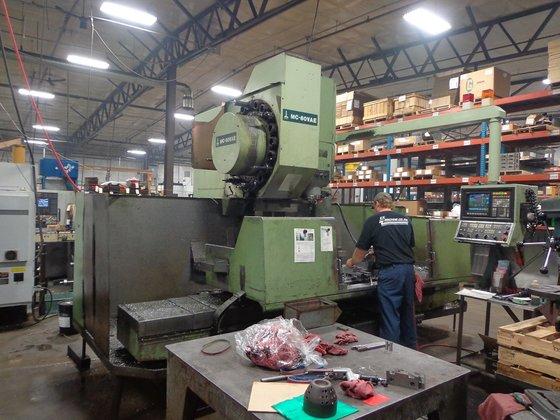 Okuma MC60VAE CNC Vertical Machining