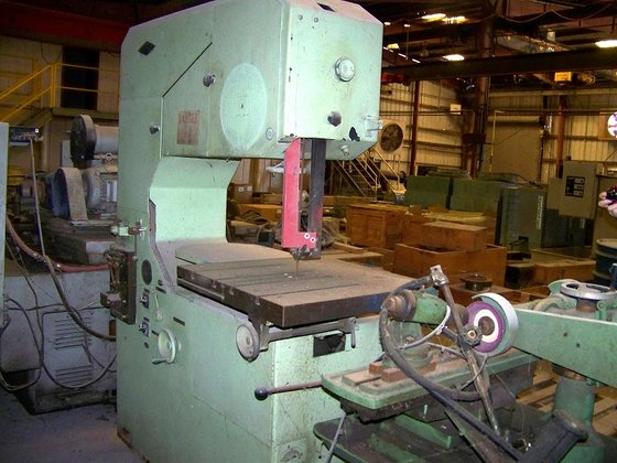 Wespa BSo-24 Vertical Band Saw
