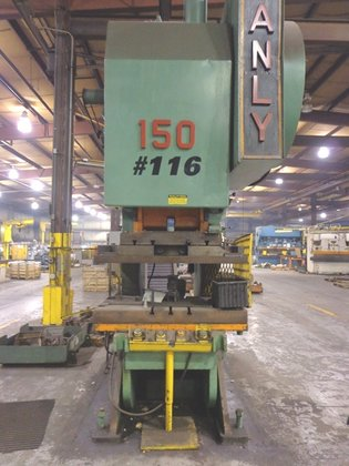 150 Ton Danly Open Back