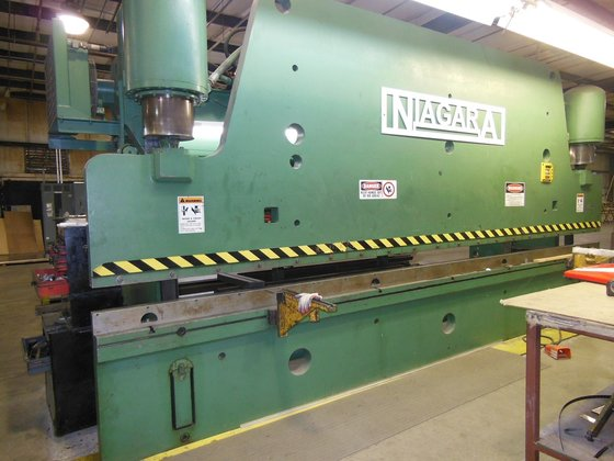 400 ton 16' Niagara HD-400-16-20'
