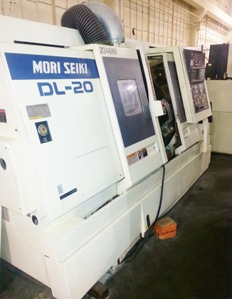 1997 Mori Seiki DL20 Twin