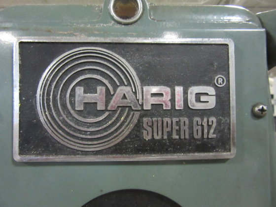 Harig Super 612 Precision Surface