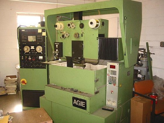 1983 Agie 450 3-Axis Wire