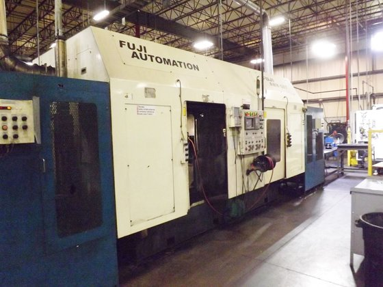 2000 Fuji ANW-50T Dual Spindle