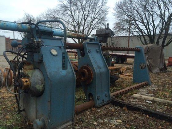 300 Ton Chambersburg Hydraulic Wheel