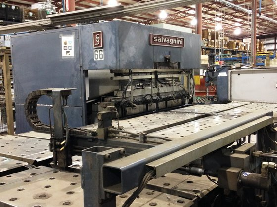 1997 Salvagnini P4 CNC Panel