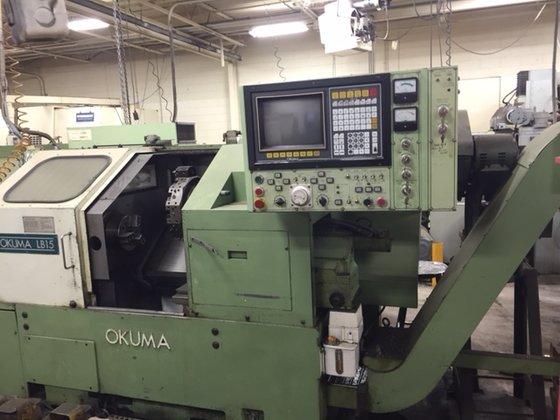 """8"""" chuck Okuma Model LB-15"""