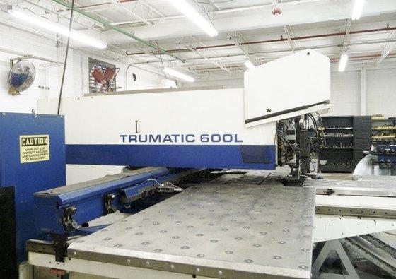 1997 Trumpf Trumatic 600L 25