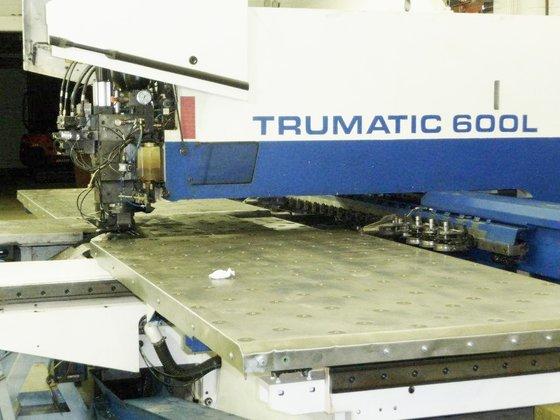 1997 25 Ton Trumpf Trumatic Model 600L CNC Punch Press
