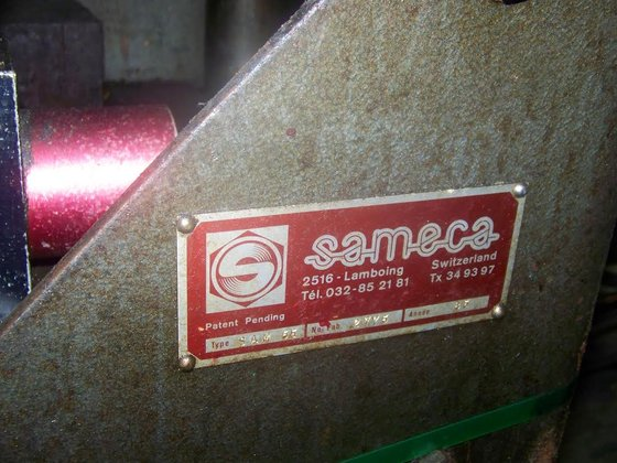 Sameca Model SAM 55 Barfeed