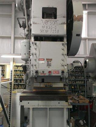 250 ton Verson Model 250-830-G