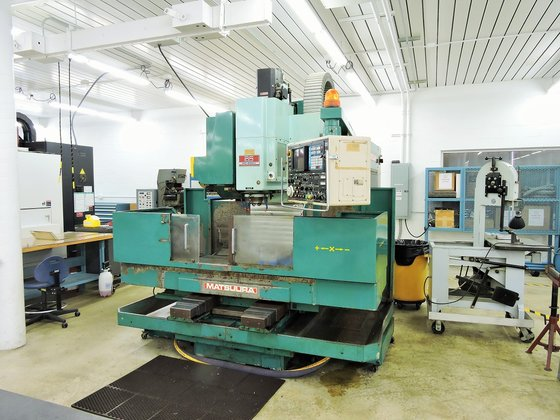 Matsuura Model MC-800V 3-Axis CNC