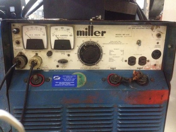 Miller Model MP65E DC Arc