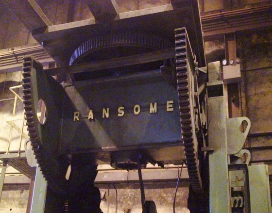 1970 120.000 lbs Ransome Model