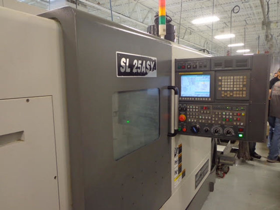 2012 Samsung Model SL-25ASY Sub-Spindle/Live
