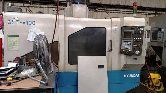 Hyundai SPT V100 Vertical Machining