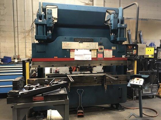 2000 90 ton x 6' Cincinnati Model 90CBII X 6 Hydraulic Press