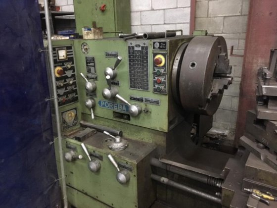 Poreba Model TPK-90A1/5M Geared Head Engine Lathe in Elk Grove