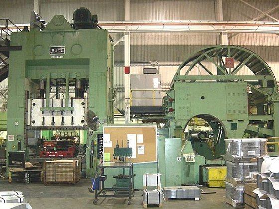 Clearing S4-1000-108-72 SSDC Punch Press