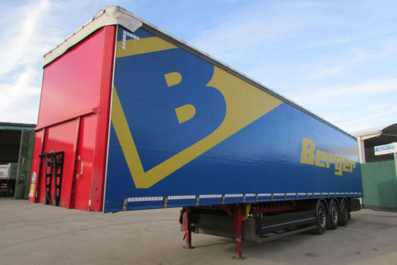 2014 Berger SAPL 24 LTN - Tautliner - Zertifikat Nr.: 163 in ...