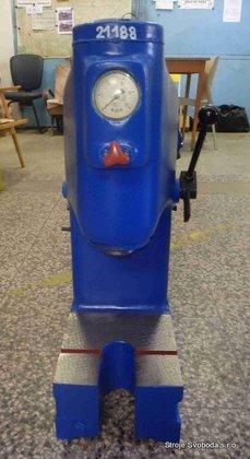 Hydraulic press in Blansko, Czech Republic