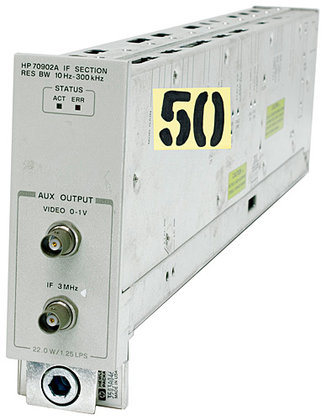 HP 70902A IF Section Module