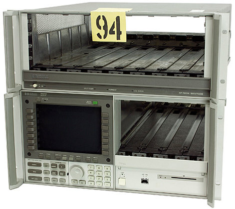 HP 70001A/70004A Mainframe with the