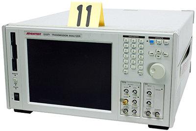 Advantest D3371 Transmission Analyzer in