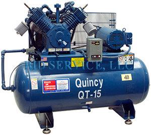 Quincy Compressor QT15ST1500364 58306 in