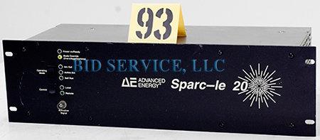 Advanced Energy Sparc Le 20